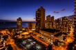 Night over Honolulu