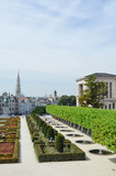 View of the city of brussels, belgium