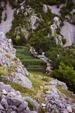 Kuda's bridge in Krupa river canyon in Croatia