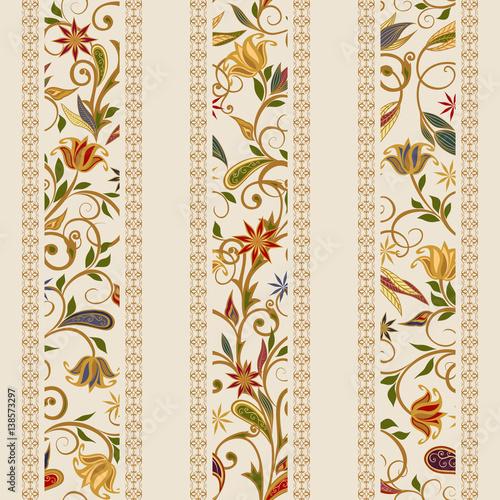 abstrakcjonistyczny-rocznika-wzor-z-dekoracyjnymi-kwiatami-liscmi-i-paisley-wzorem-w-orientalnym-stylu