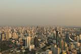 BANGKOK, THAILAND - FEBRUARY 8, 2017: Bangkok evening panoramic view from Baiyoke Tower 2, Thailand