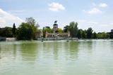 Big Pond in Retiro Park - Madrid - Spain
