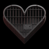 Jail cell heart. - 138600002