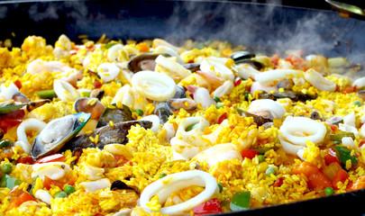 Paella delicious street food Camden Town