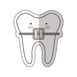 dental healthcare isolated icon vector illustration design