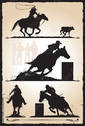Rodeo - Cowgirls