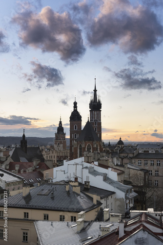 Sunset over Krakow in Poland © Cinematographer