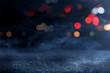 Asphalt texture background with smoke