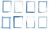 Rahmen Set blau  - 138665091