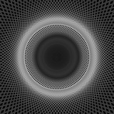 Abstract technology concept, moving radial lines background. - 138676648