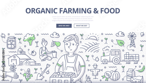 Organic Farming & Food Concept