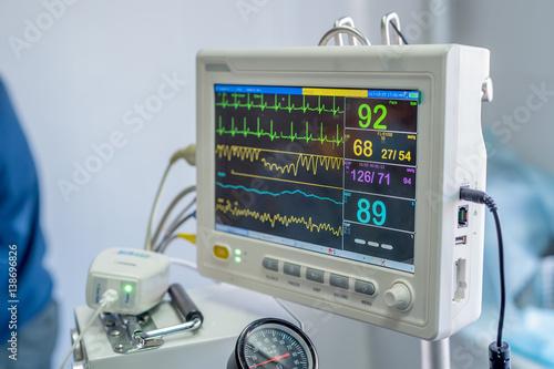 obraz PCV Veterinary anesthesia machine