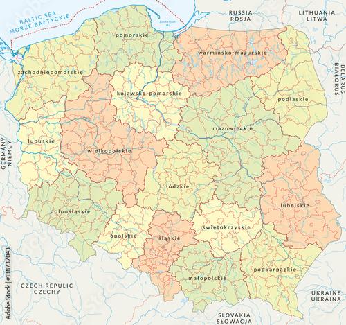 wektorowa-mapa-polski-podzialu-administracyjnego-vol-4