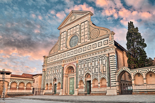 Poster Florence Florence, Tuscany, Italy: Basilica of Santa Maria Novella