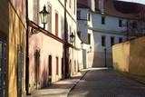 Historical prague lane