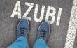 Leinwanddruck Bild - Azubi - Ausbildungsbeginn