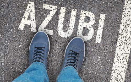 Leinwanddruck Bild Azubi - Ausbildungsbeginn