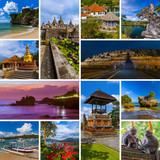 Collage of Bali Indonesia travel images (my photos)