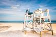 Watch tower on the Evanston Beach