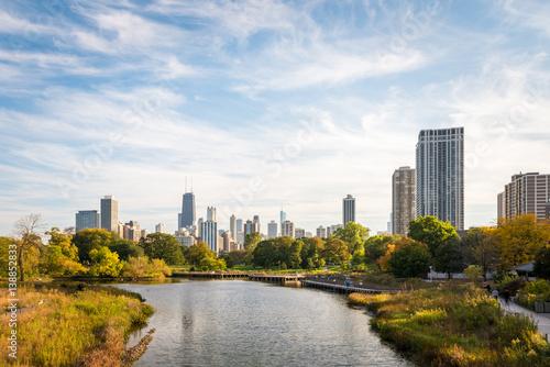 Papiers peints Chicago Park in Chicago Illinois