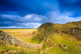 The iconic Sycamore Gap on Hadrian's Wall, Northumberland, England - 138853227