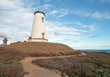 Piedras Blancas lighthouse on the Central California Coast north of San Simeon California U S A