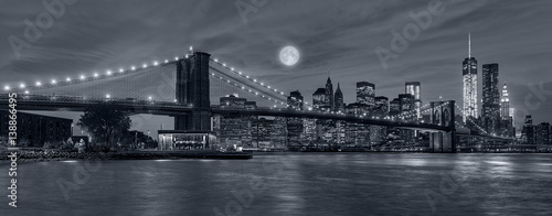 New York City at night - 138866495