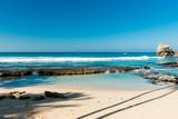 landscape of the Indian Ocean in Sri Lanka