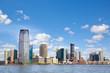New Jersey skyline over Hudson River, United States