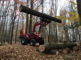Tractor lifting log