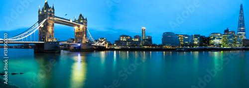 Staande foto London Panorama of London landmarks. England