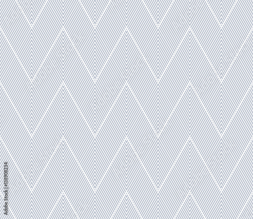 Seamless zigzag pattern. - 138908234
