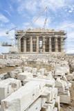 Parthenon Under Renovation, Athens, Greece
