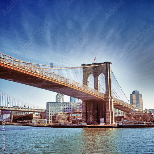 Foto op Plexiglas Brooklyn Bridge Brooklyn Bridge.