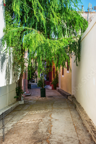 The streets of Athen, Greece