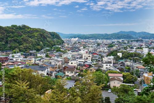 Foto op Canvas Caraïben View on Kamakura city in Kanagawa Prefecture, Japan