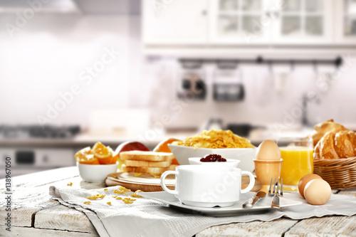 Fototapeta breakfast