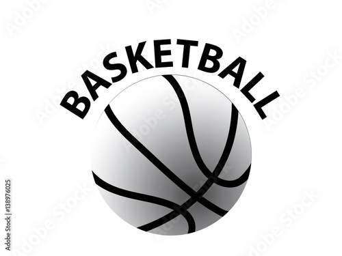 Plexiglas Sportwinkel Basketball logo design. Sport logo. Creative sport logo.