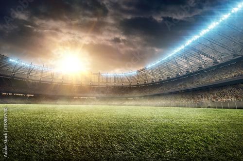 soccer stadium 9 Poster