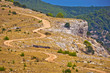 Island of Brac desert scenic road