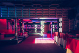 Night club interior with pole dance stage - 139009432