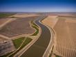Aerial of California Adueduct
