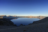 Crater Lake Sunrise - Sunrises on Crater Lake National Park.