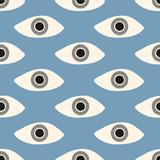 seamless eyes pattern - 139050264