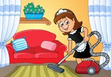 Cleaning lady theme image 4