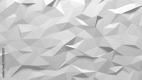 Polygon background texture - 139092855