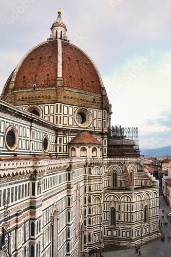 Papiers peints Florence Cattedrale di Santa Maria del Fiore, Firenze (veduta dal campanile)