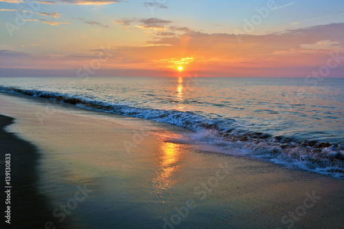 Summertime Seashore Sunrise