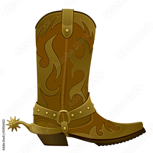 Cowboy Boots No Background