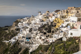 Oia, a small town on the island of Santorini, Greece